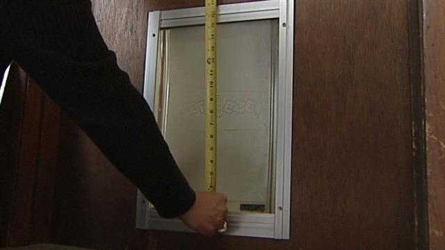 Some daring and small burglars strike in a retirement community. The thieves got in through the doggie door!