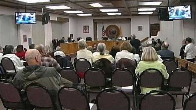 Santa Fe city council is still deciding whether to pass a same sex marriage resolution. One after another opponents of same sex marriage stepped forward begging the council not to pass it.