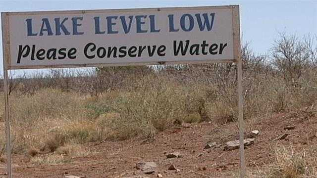 It's a crisis, community leaders near Conchas Lake say, they have a plan to handle. We traveled to the town of big mesa, where the water supply is in danger of running out.