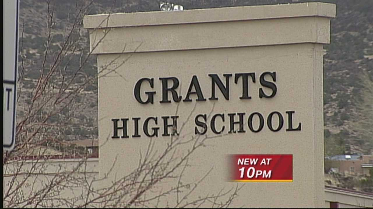 This happened at grants high school last Friday. The district's superintendent is looking into those allegations. But they confirm she needed medical attention.