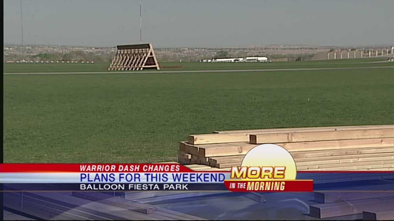 Big changes are coming to this year's Warrior Dash, including a brand new location at Balloon Fiesta Park.