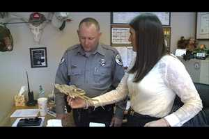 In the end, N.M. Game and Fish Officials told us it was a dried up fish that wasmanipulatedto look like an alien.