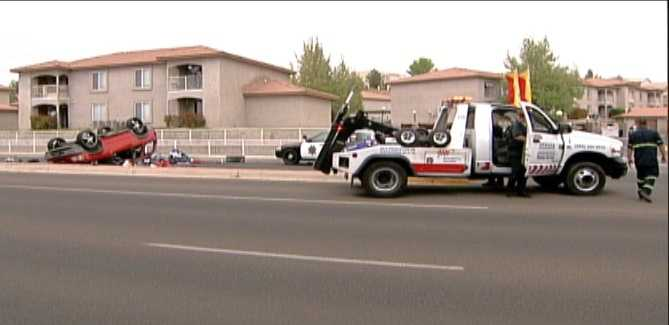 Bernalillo County Sheriff's deputies said they have a man in custody who led police on a wild car chase and then foot chase on Monday morning.