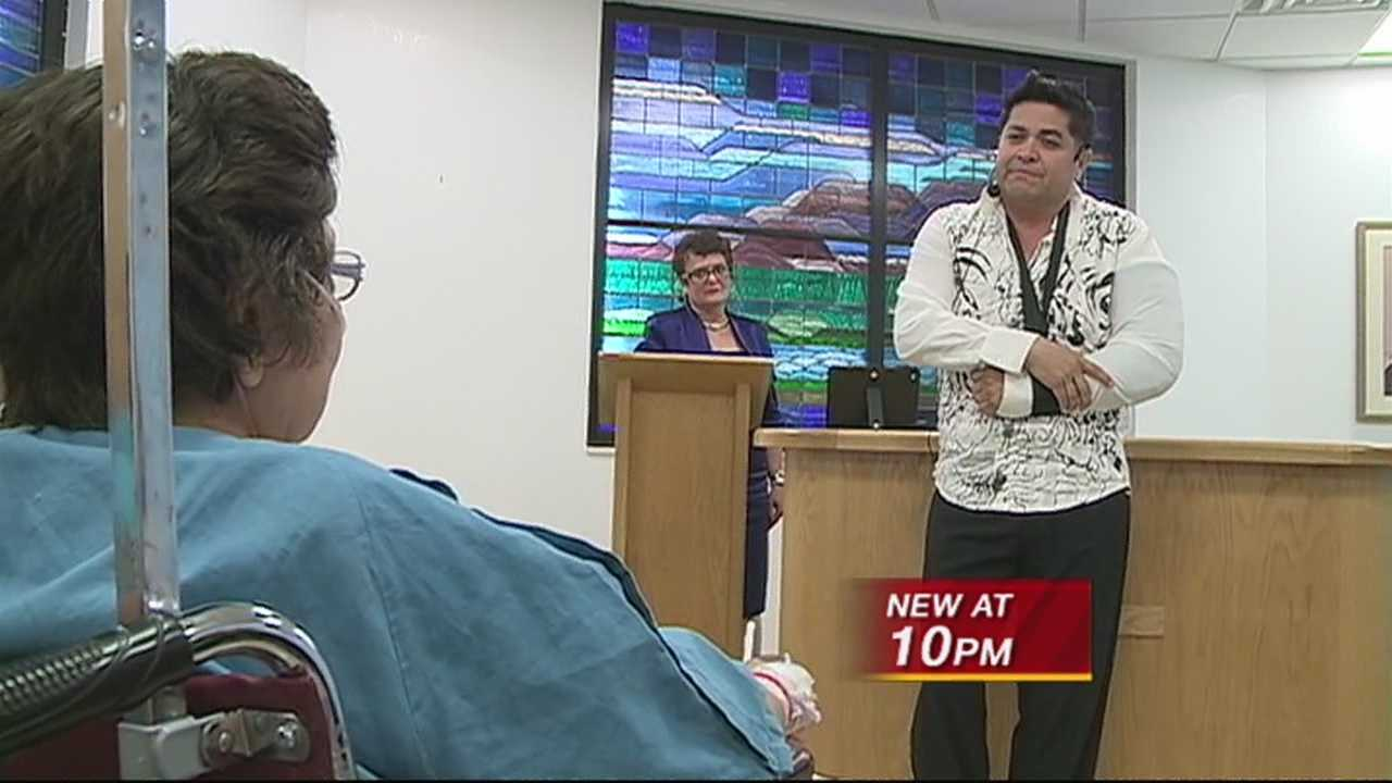 Stabbing Victim Mother's Day Performance