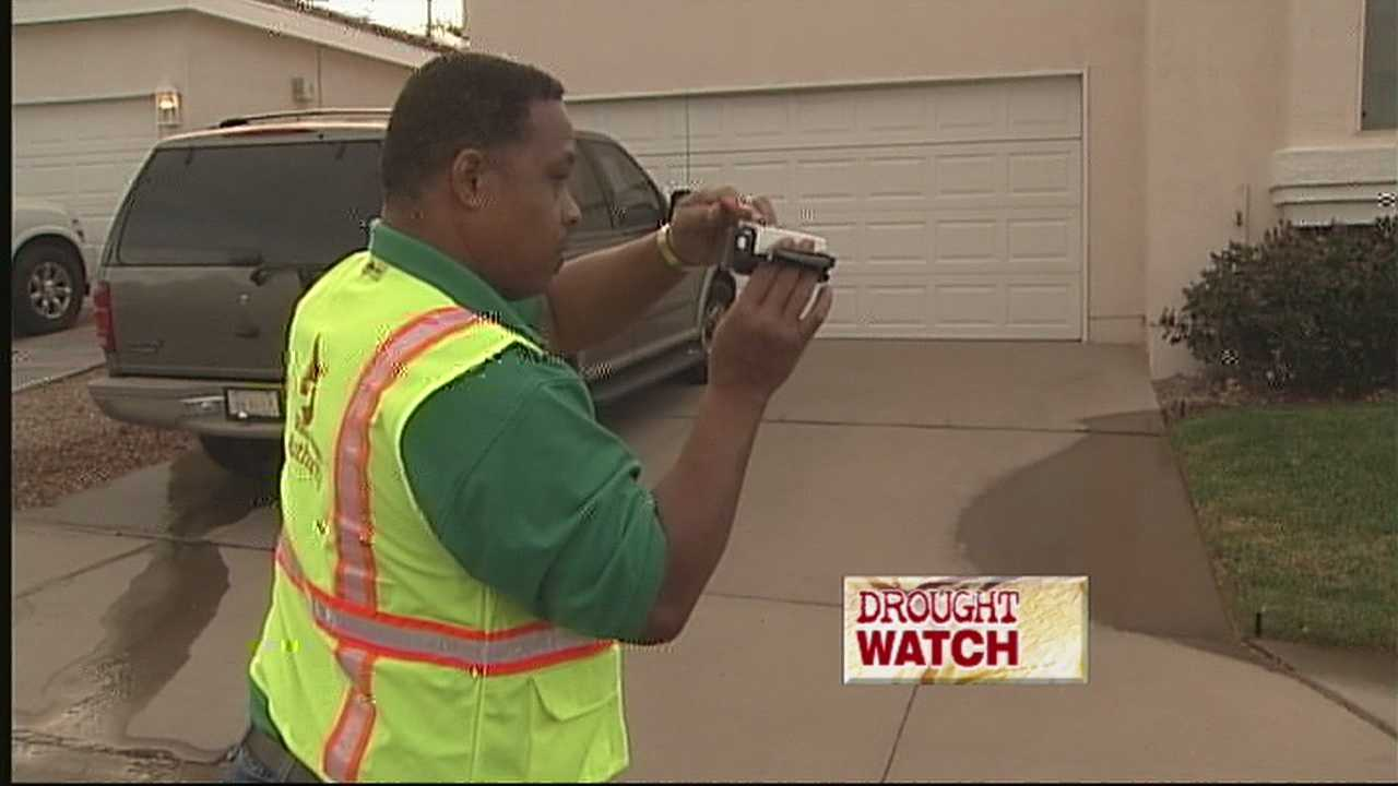 A third year of drought has placed a premium on every drop of water, and the Albuquerque Bernalillo County Water Authority is on patrol to punish those wasting water.