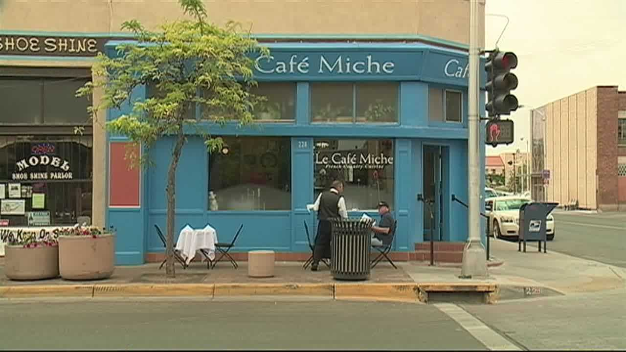 Nearly 15 years after a customer at an Albuquerque French restaurant couldn't afford to pay the check, he comes back to settle the debt.