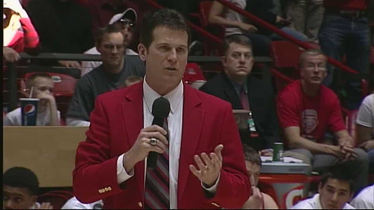 THE UNIVERSITY OF NEW MEXICO AND STEVE ALFORD HAVE SPENT THE LAST MONTH AND A HALF LOCKED IN A DISPUTE OVER HIS BUYOUT.
