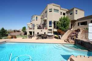 Take a look inside this 5 bedroom, 5 bath mansion in Albuquerque, N.M. featured onrealtor.com