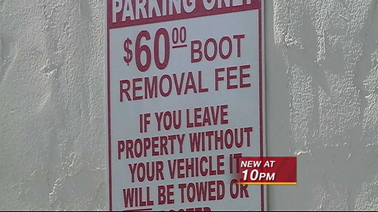 A city councilor fears booting cars on Nob Hill, could be driving customers away!