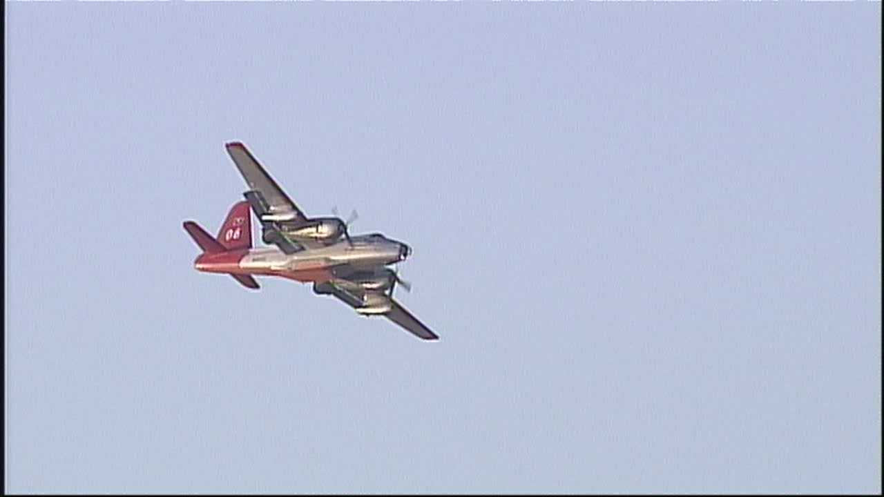 FIRE SERVICE EXPERTS SAY THE UNMANNED AIRCRAFT COULD BE THE BEST WAY TO TARGET HOT SPOTS.