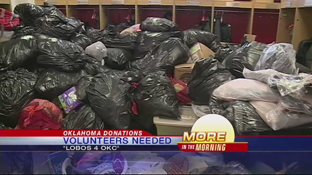 Lobo Softball Team Needs Volunteers to Organize Oklahoma Donations