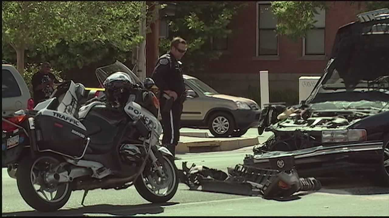 A case of road rage took a dangerous turn Wednesday afternoon as gunshots rang out and cars came crashing to a stop near Central Avenue and 10th Street.