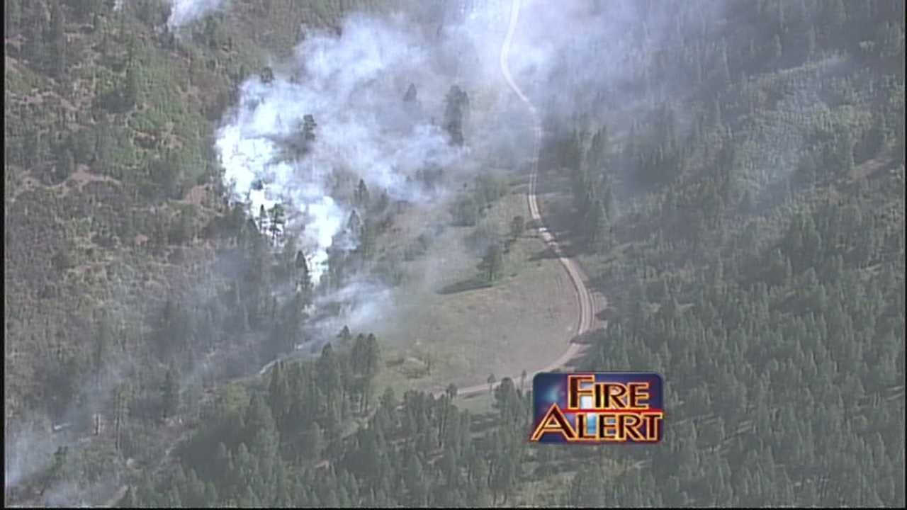 Initial reports show the Tres Lagunas and the Thompson fires, were both caused by downed power lines.
