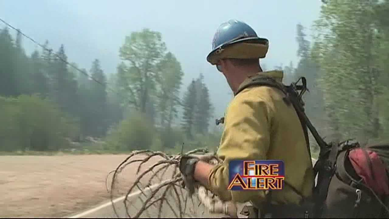The risk of wildfires is so great in New Mexico that out-of-state fire crews are now flocking to the Southwest to help.