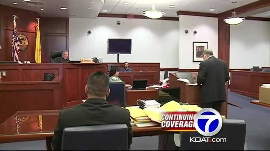 June 2013: Jury seated in Levi Chavez trial.