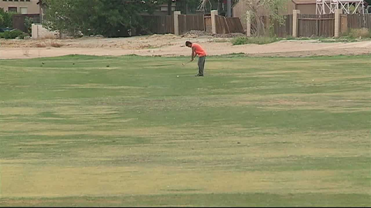 There's a potential buyer for Chamisa Hills Golf Course and he says there's no reason to tear up the green.