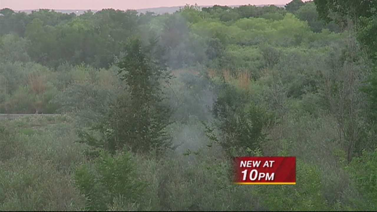 THE BOSQUE IS CLOSED BECAUSE OF FIRE DANGER