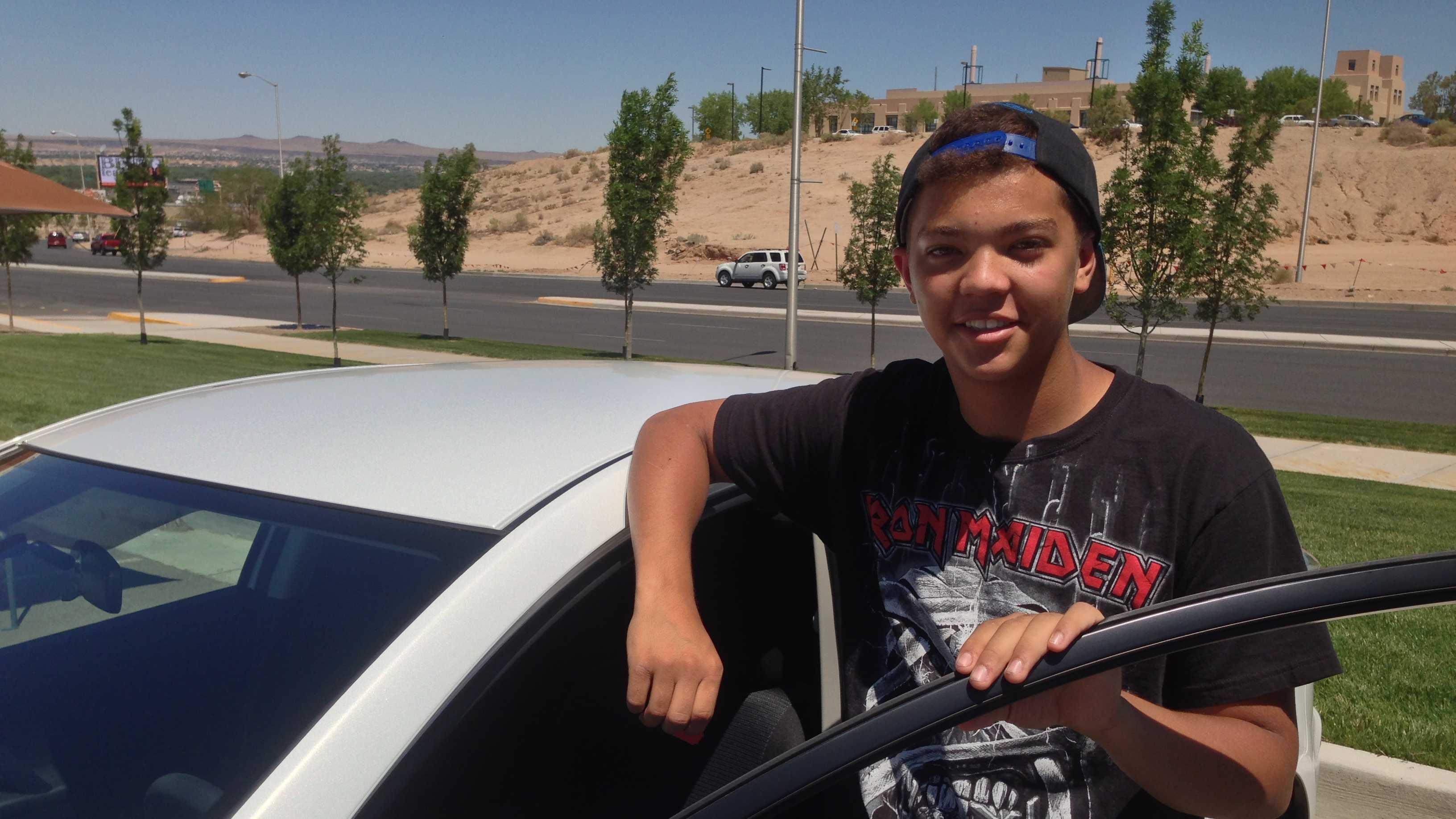 new car guy pic