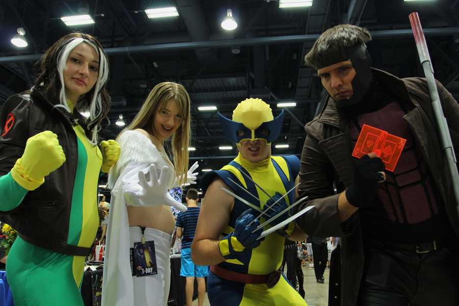 The Comic Expo descended on Albuquerque over the weekend. There, fans got to meet their favorite action heroes and dress up as their favorite characters.
