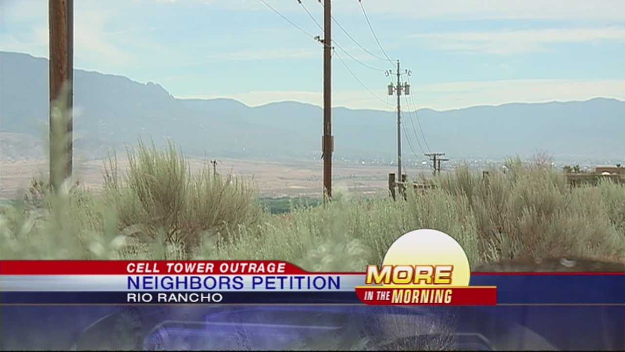 Rio Rancho Residents Outraged Over Cell Phone Tower Plan