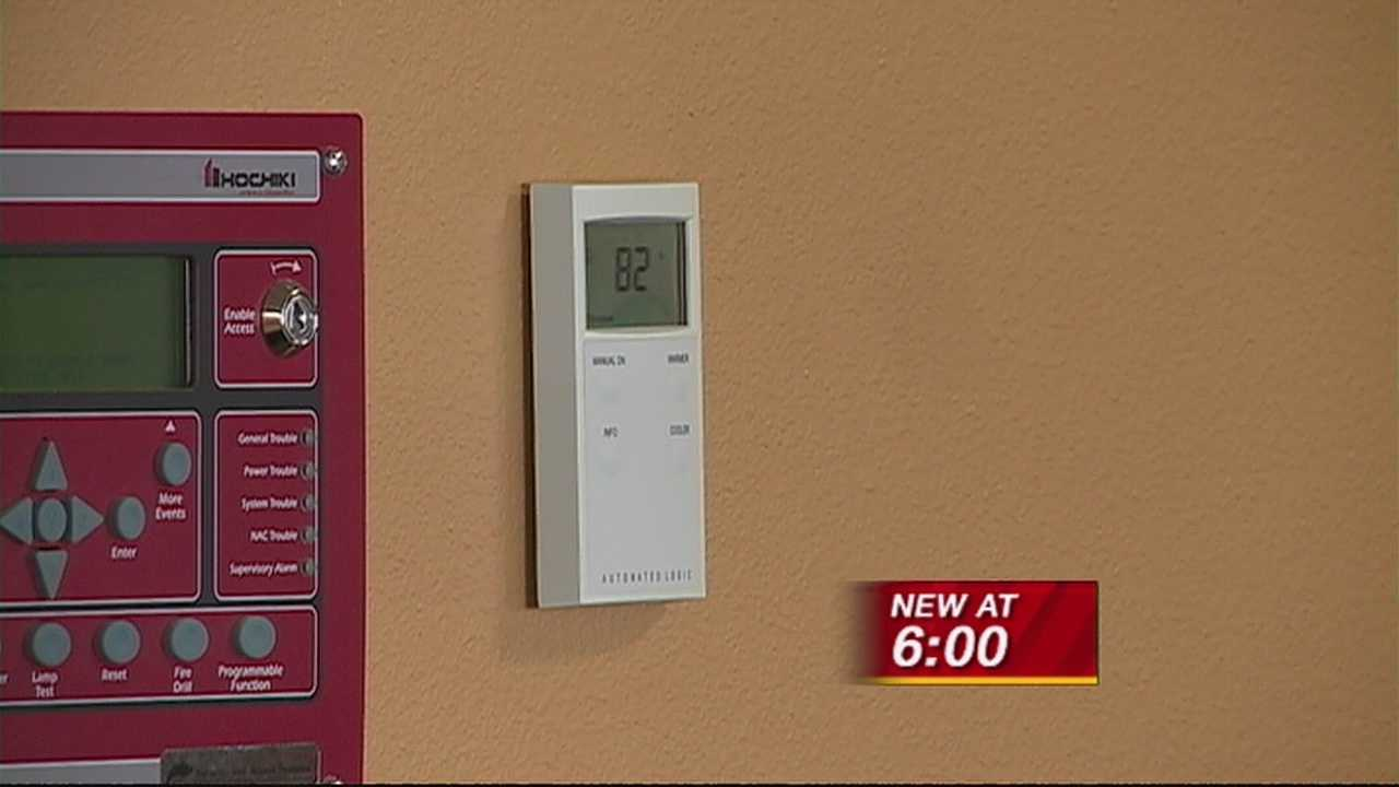 Clients turned away because of building's high temperature