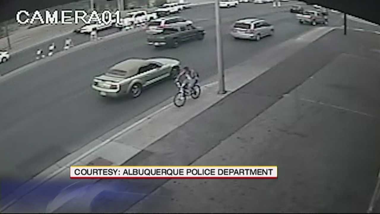 Potential suspect caught on video