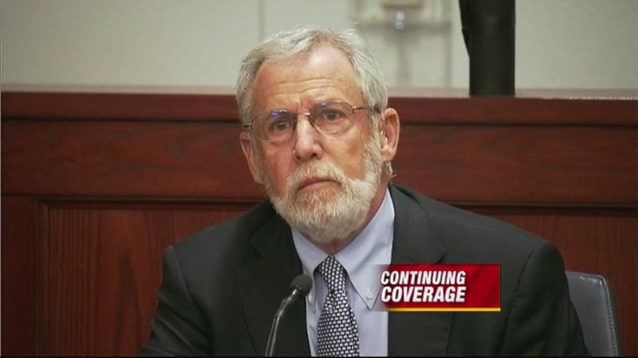 Expert witness testifies on subject of suicide