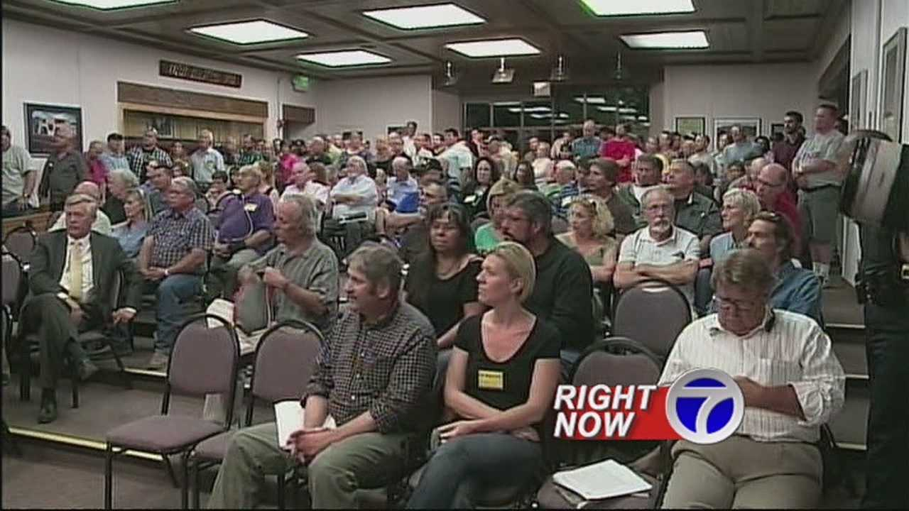 Dozens of people argued against the proposed magazine ban.