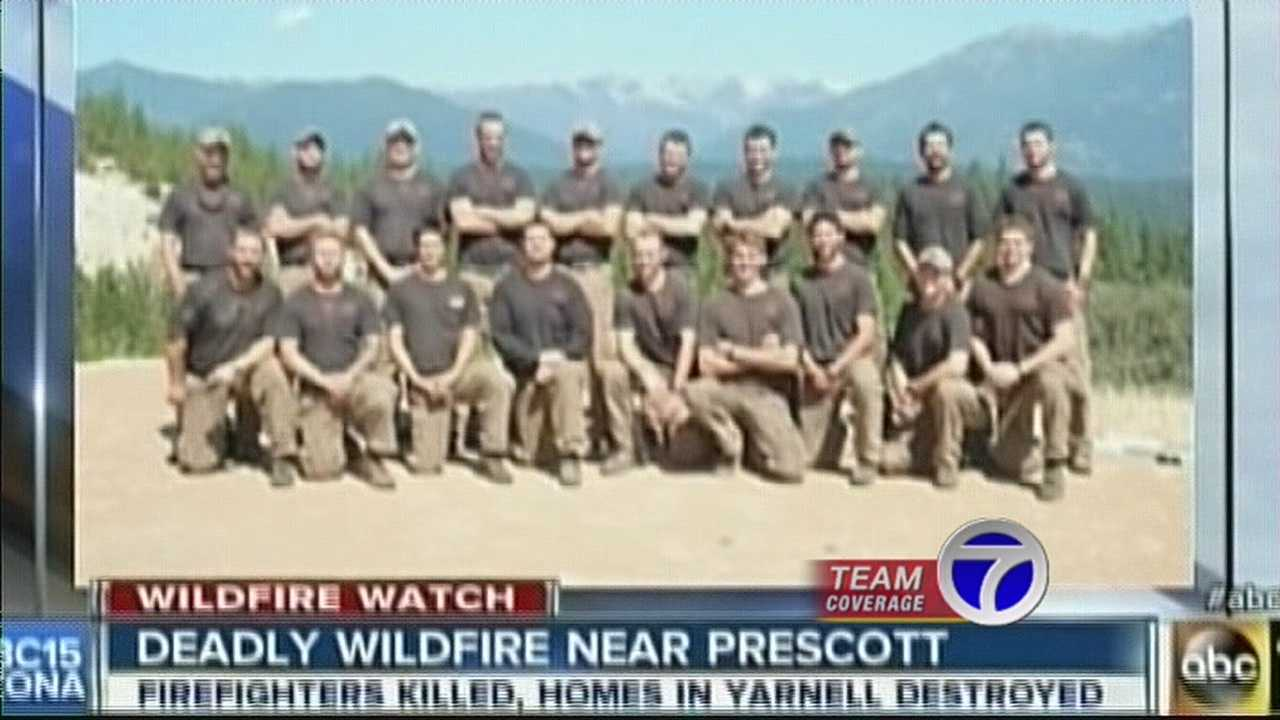 One local man knows all too well what those firefighters were up against andseen the dangers of wild land fires up close.