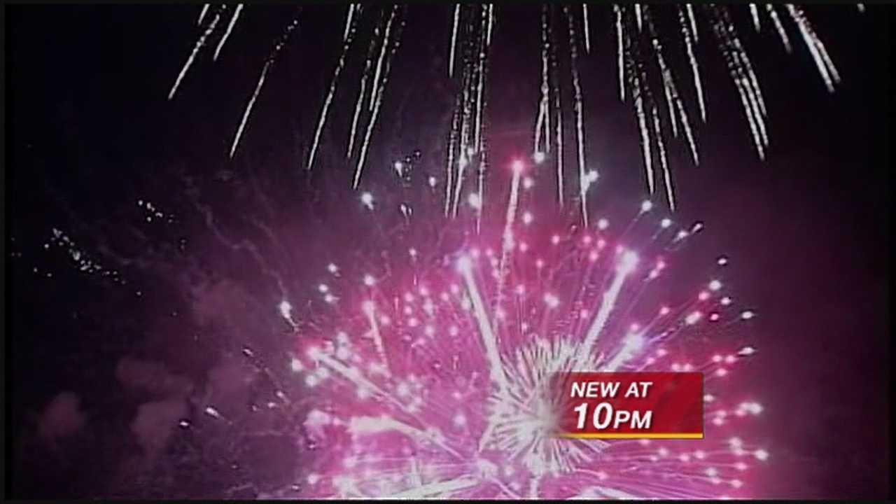 Santa Fe Fireworks Near Animal Shelter