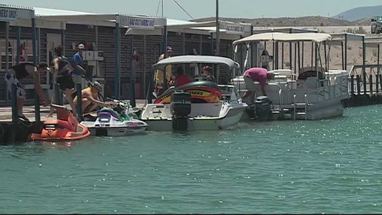 The fourth of July weekend is underway at Elephant Butte