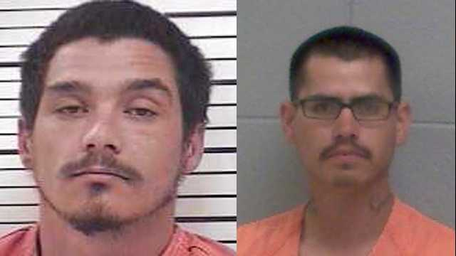 Rusty Betts (left) and Orlando Garcia (right)