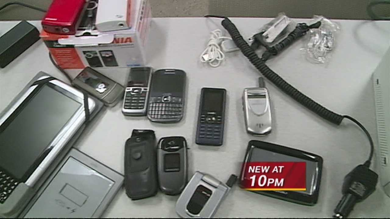 Albuquerque police are hoping to return a lot of stolen property to victims after a big property crimes arrest.