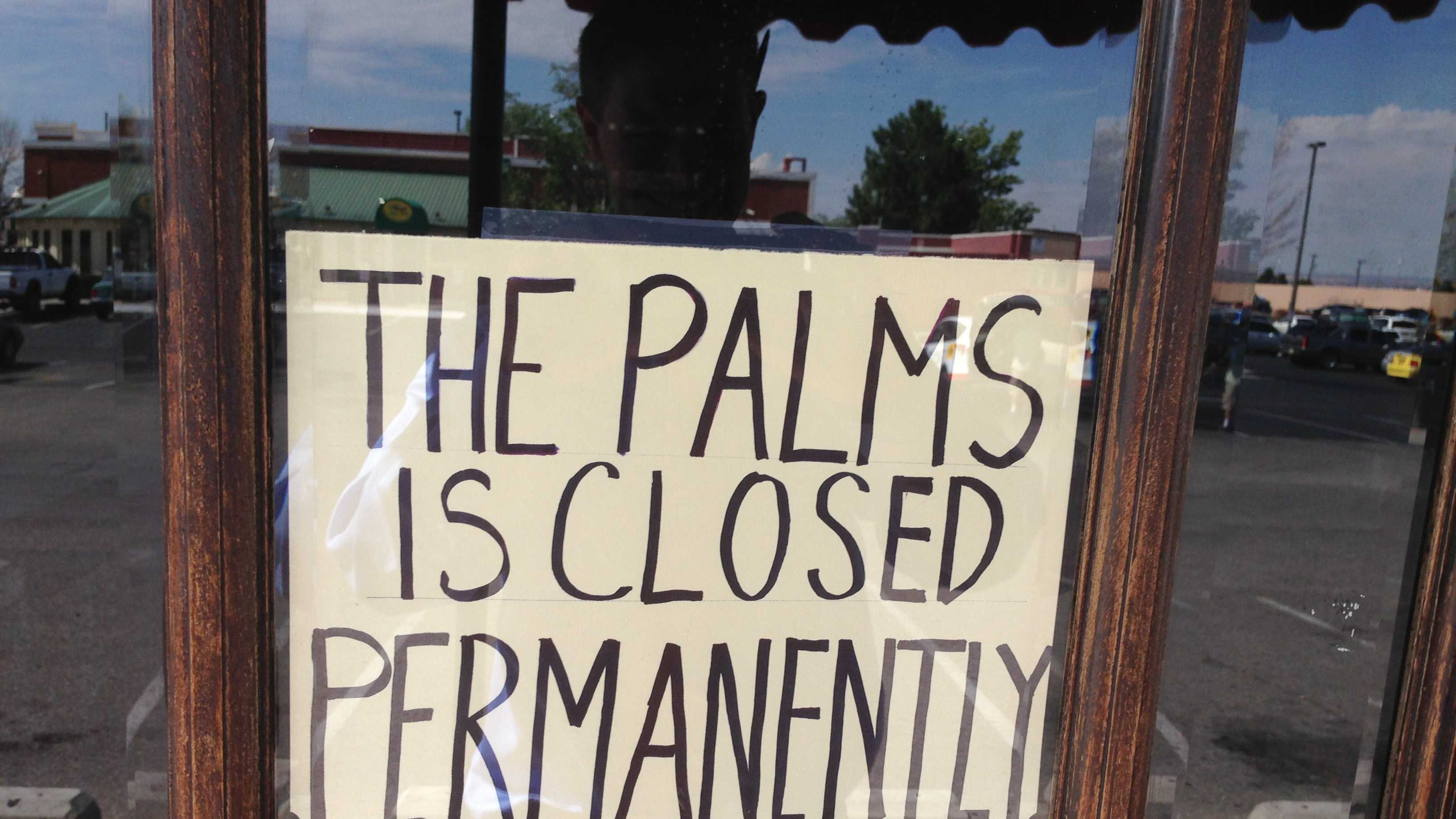 Palms Strip Club Closed
