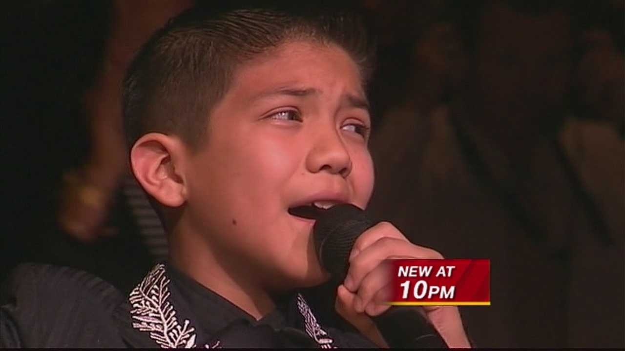 AN 11-YEAR-OLD MARIACHI SINGER WHO WAS A TARGET OF SOME NASTY COMMENTS ONLINE.