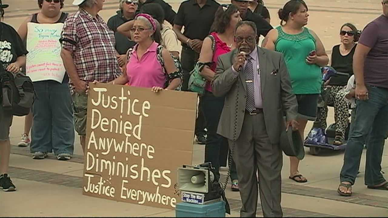 George Zimmerman local protest