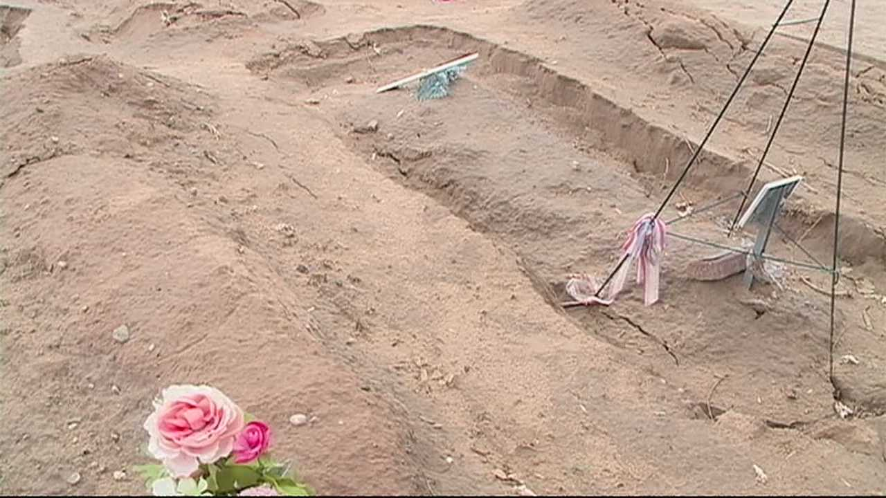 40 graves affected by recent weather