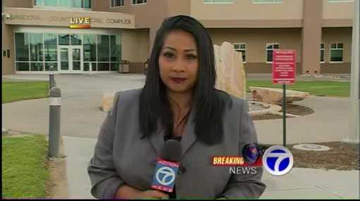 "KOAT trial reporter Anna Velasquez: ""My adrenaline was running. It was difficult for me to tweet out the verdict. When (the verdicts came down) we were quiet, but (local members of the media) were tweeting and I wouldn't say we were that shocked. But, I honestly couldn't believe it myself."""