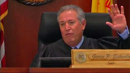 "Judge George Eichwald: ""I've been observing throughout this trial that there has been a lot of animosity in this courtroom. You could cut the tension with a knife in here."""