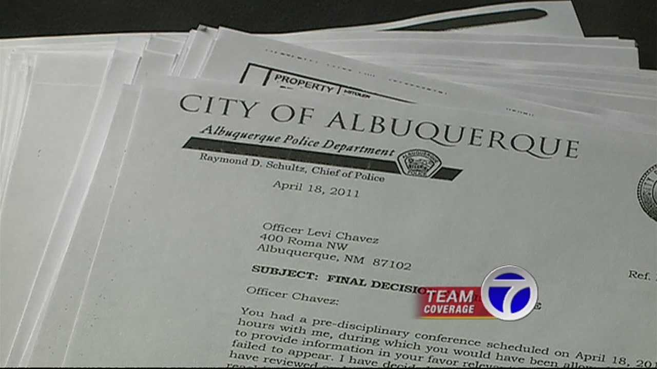 Internal affairs file sheds light on Levi Chavez's time as cop