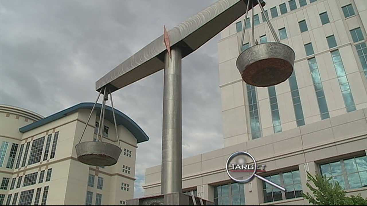 One of the men convicted in the Metro Courthouse scam is out of prison.