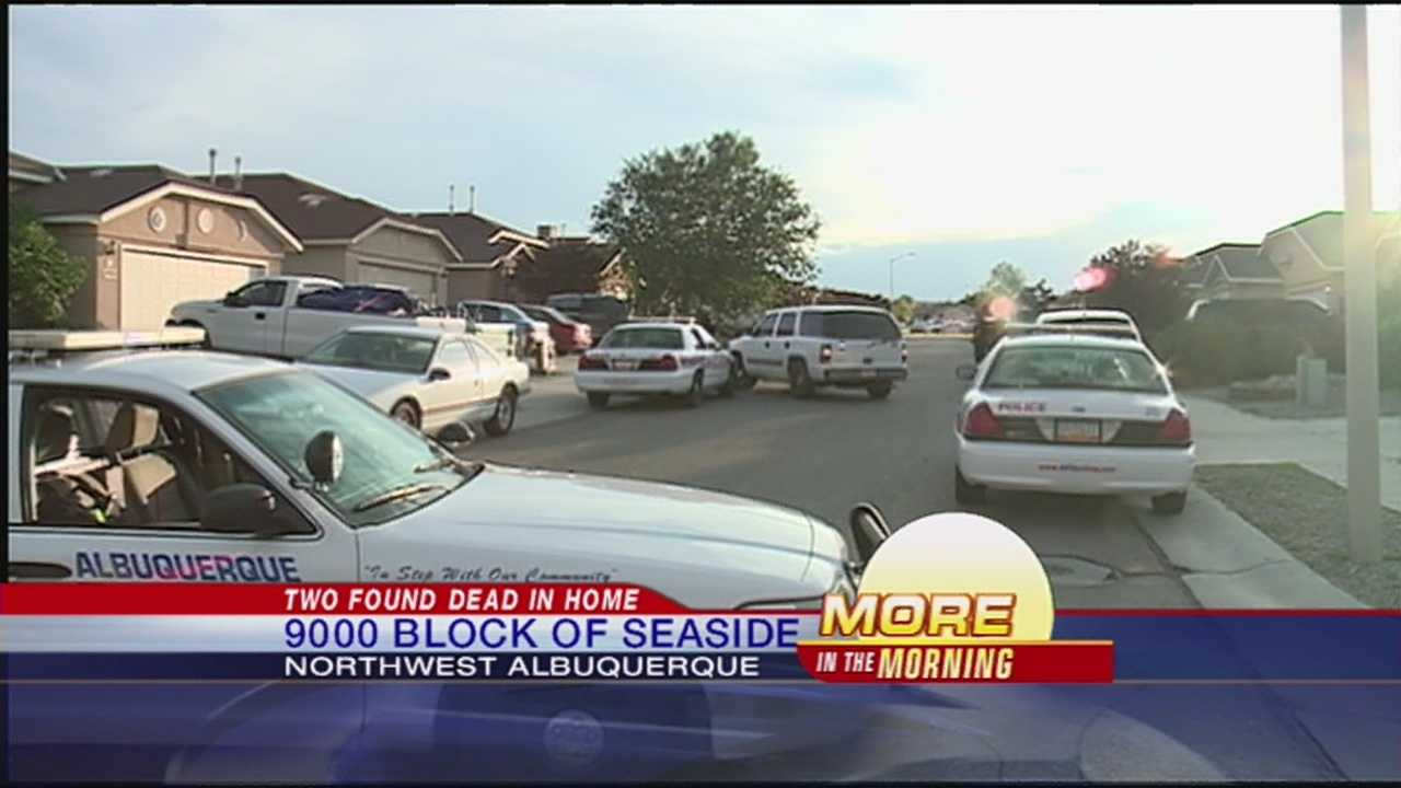 Police are still trying to figure out what lead up to the deaths of two people in a northwest Albuquerque home.