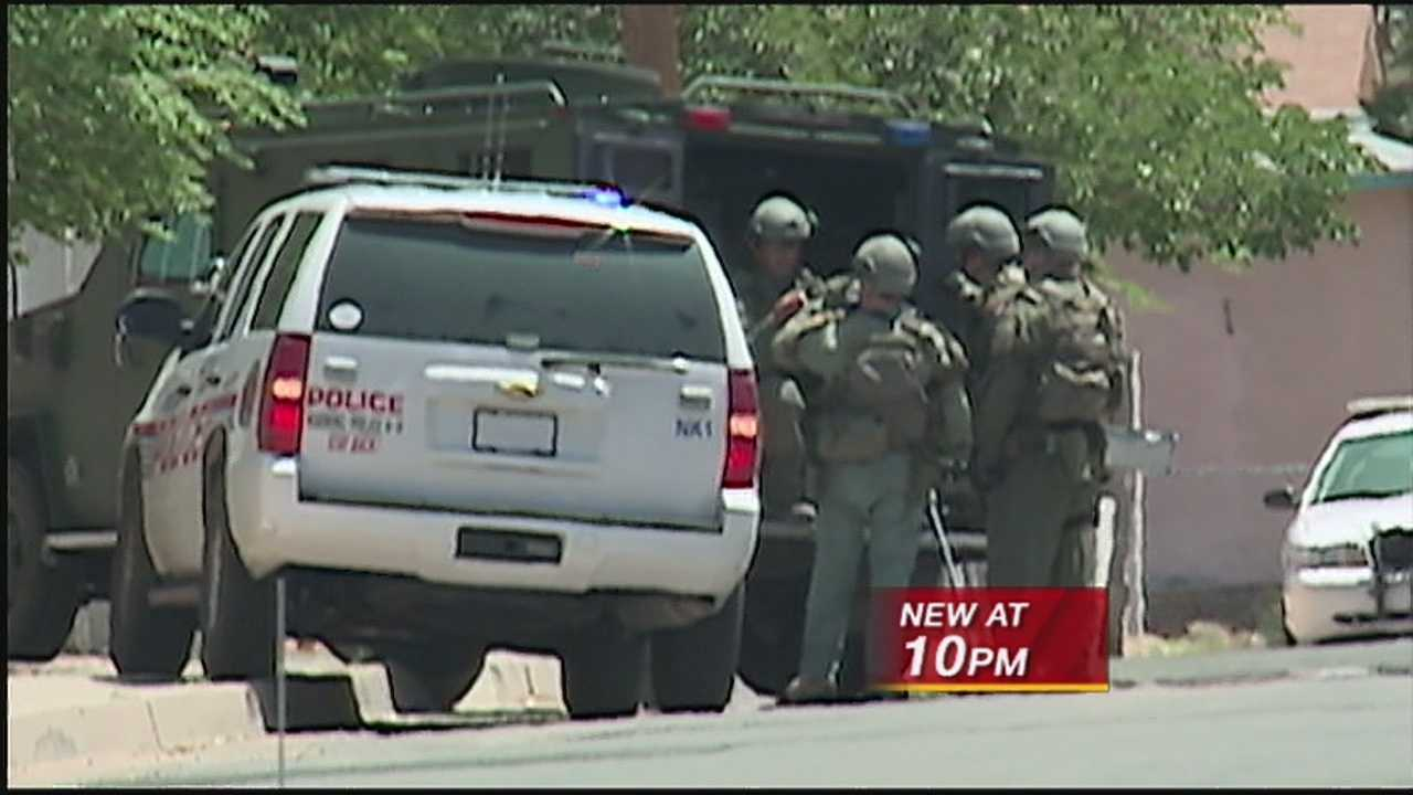 Another hours-long swat situation in Albuquerque, caused major damage inside a family's home