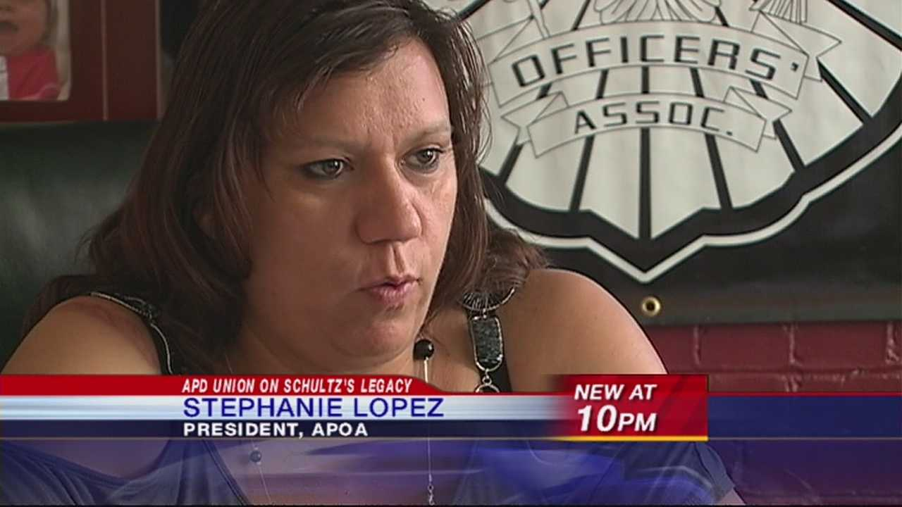 Police union president speaks on chief's legacy