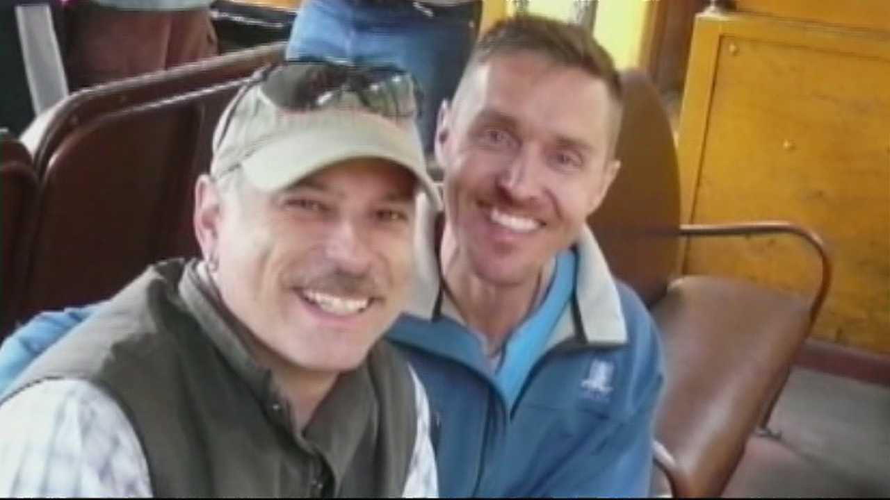 A gay couple visiting Albuquerque was shocked when an airport shuttle driver made them sit in the back of the bus.