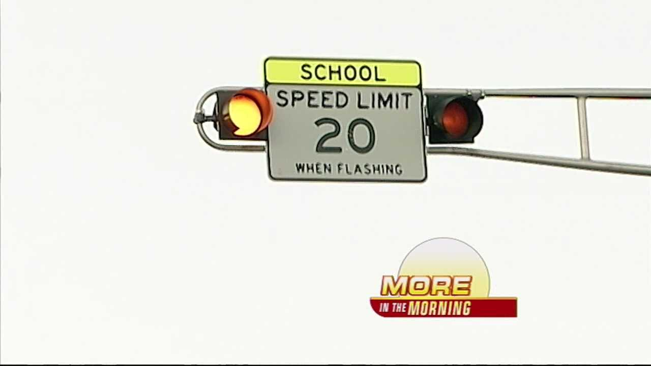 APD Reminding Drivers to Slow Down in School Zones
