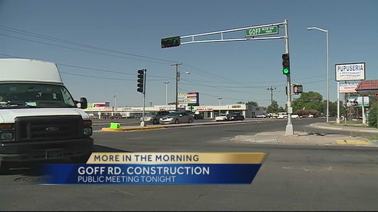 South Valley Construction Public Meeting Tonight