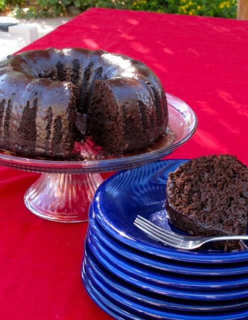 Triple Chile Chocolate Zucchini Cake by u local member babschamberlin. CLICK HERE to see the full recipe.
