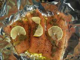 Green Chile Grillin' Salmon by u local user Helping Paws. CLICK HERE to see the full recipe.