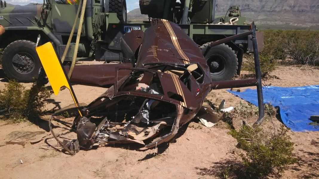 Three people died in a helicopter crash Saturday south of Truth or Consequences, New Mexico.